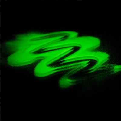 green glow powder